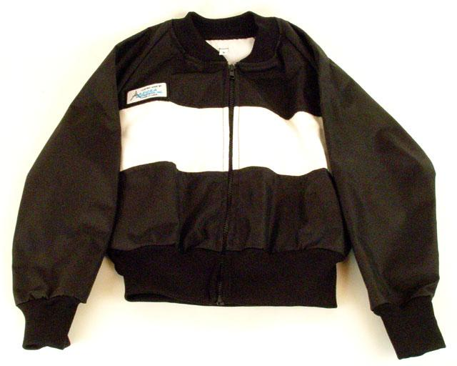 Smal-XXL Kart Racewear Racing Jacket Black with Right Arm Heat Safety Sleeve
