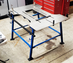 Comet Offers In-House Frame Straightening
