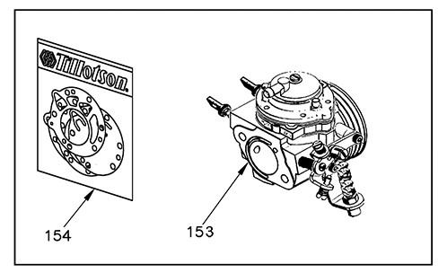 Rok VLR Tilloston HW-33A Carb Parts