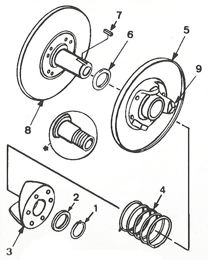 40 Series Driven Unit Parts