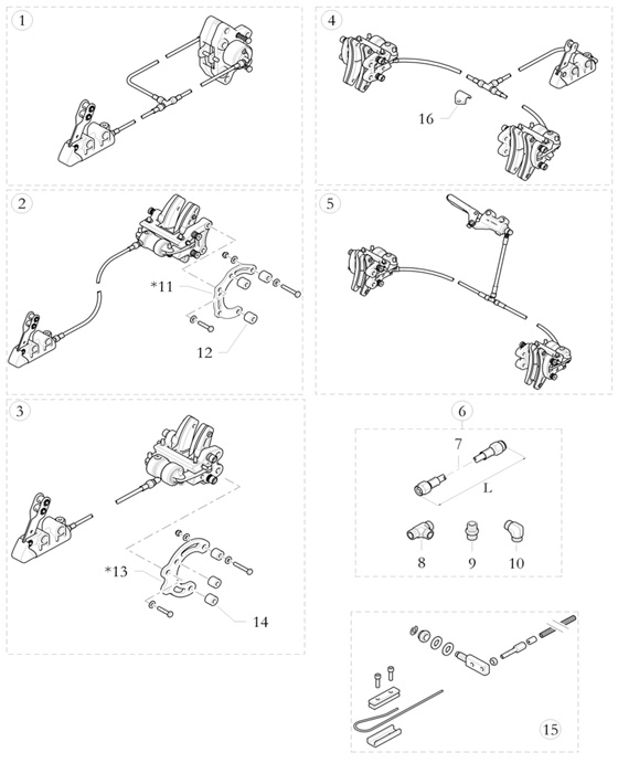 Birel Brake Parts and Brake Systems
