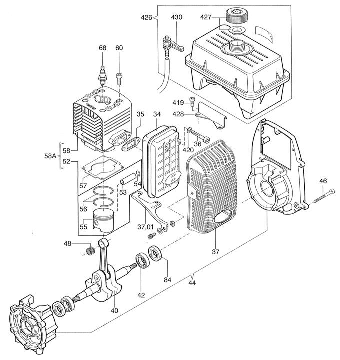 C-51 Engine Parts
