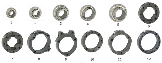 CRG Bearings, Cassettes and Axle Keys