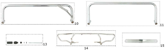 CRG Metal Rear Bumper