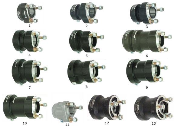 CRG Rear Wheel Hubs