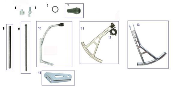 CRG Kart Parts :: Chassis & Parts :: Comet Kart Sales