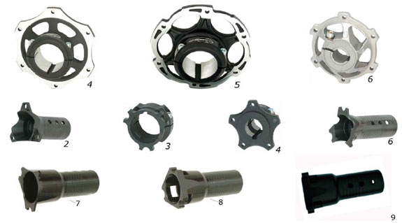 CRG Sprocket Hub, Brake Hub :: CRG Kart Parts :: Chassis & Parts