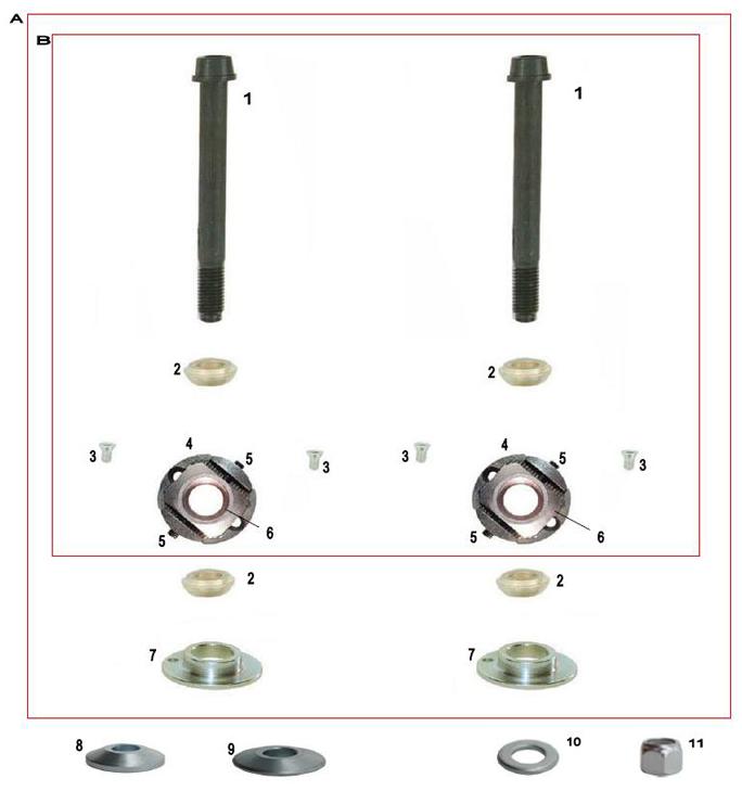 CRG Adjustable Sniper Pill Parts