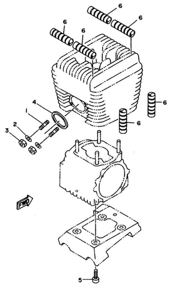 Yamaha Exhaust Parts