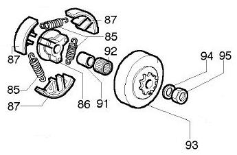 K-80 Clutch Parts