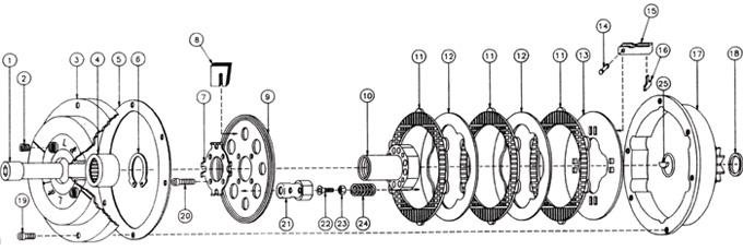 Wet Clutch Parts