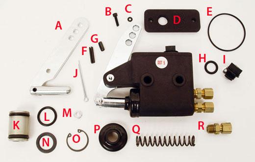 MCP Master Cylinder Parts