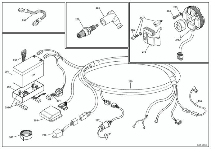 Leopard Keystart Ignition Parts