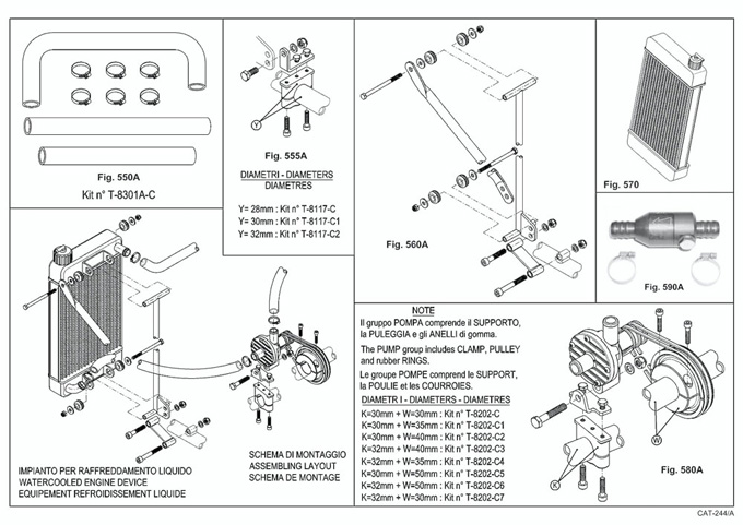 Leopard Cooling System, Radiator