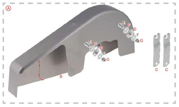 OTK Tony Kart Chain Guard
