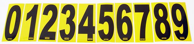 OTK Tony Kart Numbers