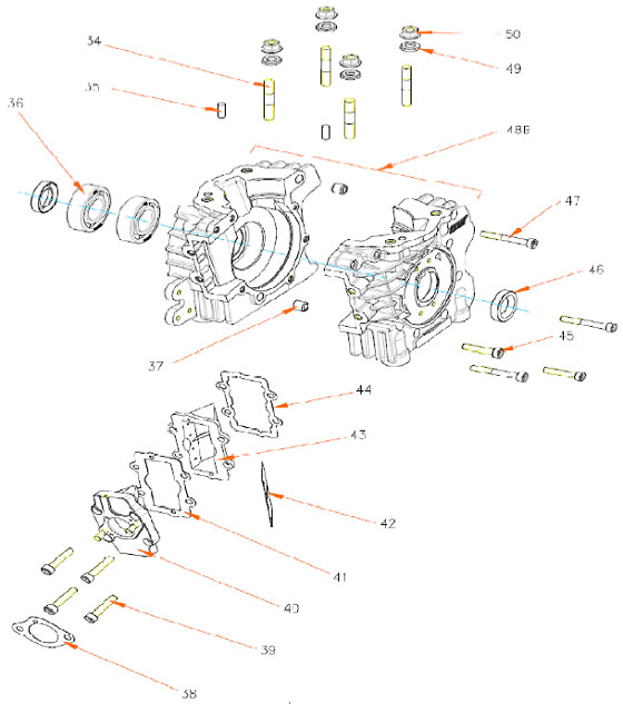 Rok TT Bottom End Parts