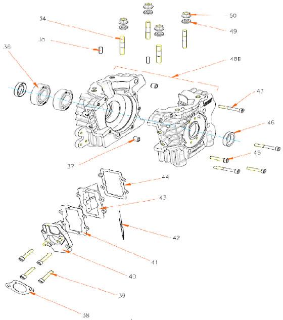 Rok TT Bottom End Parts