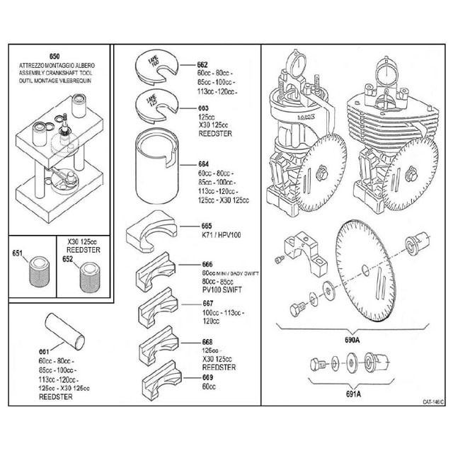 X30 Crankshaft & Timing Tools