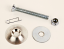 LBK-03 Lead Weight Flat Head Drilled Bolt Kit with Clip