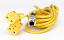 Mychron 4, 5 2T Double Yellow Patch Cable - Plug End