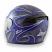 Zamp FS-8 Graphics Helmet - Graphic Blue/Silver