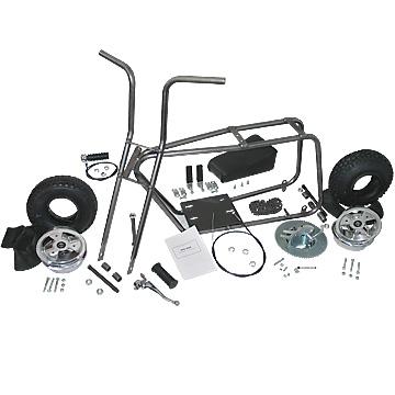 3541 mini bike kit with 6 aluminum wheels mini bike kits and parts fun kart mini bike. Black Bedroom Furniture Sets. Home Design Ideas