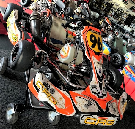 Used 2016 CRG Road Rebel Shifter Kart #96 :: Used Karts, New