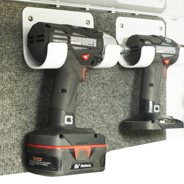 Cordless Drill/Impact Holder Bracket :: Trailer ...