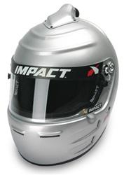 0be2ba89 Impact Racing Adult Vapor SC Helmet, Silver :: Impact Helmets ...