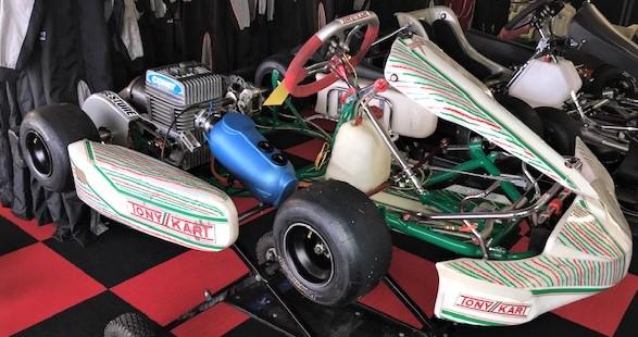 Used Tony Kart Rookie with Yamaha Engine Kit :: Used Karts, New