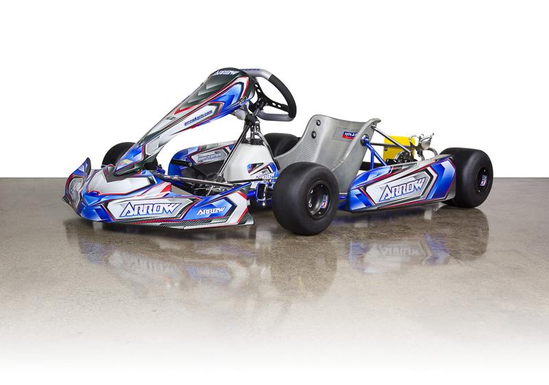 Arrow X3-CIK Chassis :: Arrow Racing Karts :: Complete Racing Kart