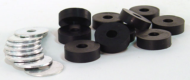 Cks Seat Grommet And Washer Kit Rubber Grommets