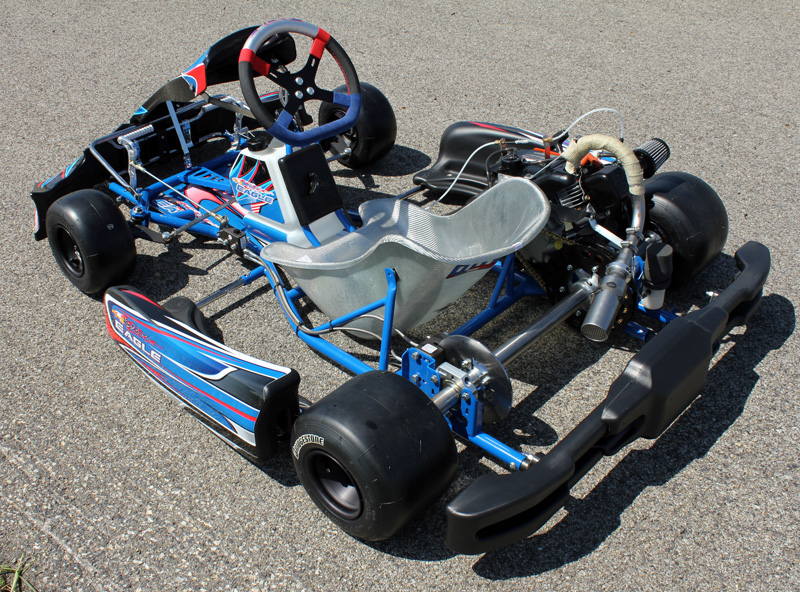Exceptional ... Eagle Kart With FP7 2016 Sticker Kit ...