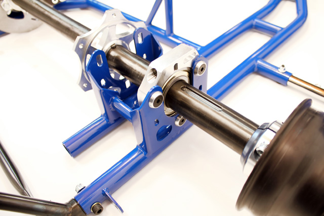 Go Kart Front Axle Assembly : Eagle engine rail side