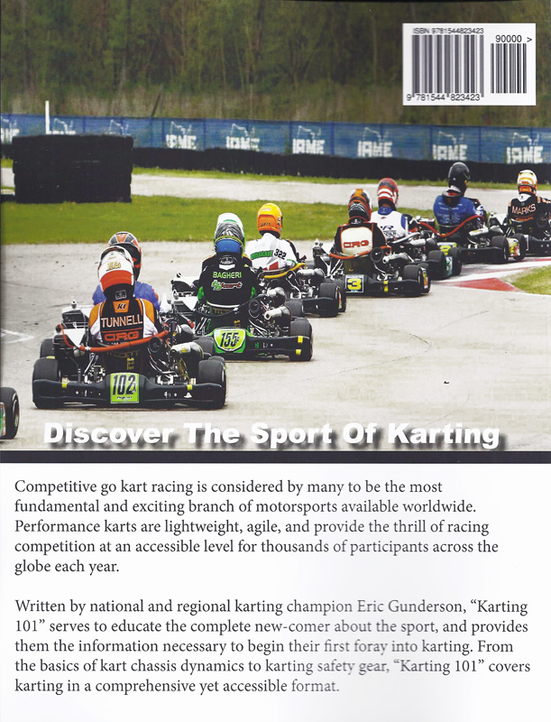 Karting 101 Book - Getting Started in Competitive Go Kart Racing ...
