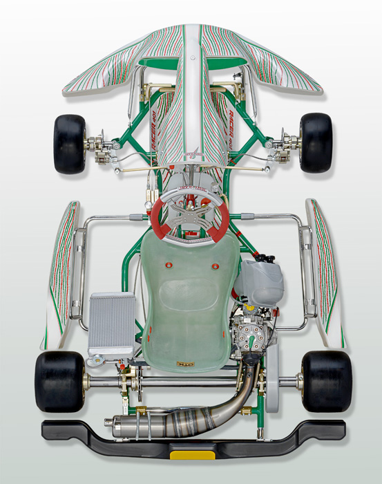2015 Tony Kart Racer 401 Racing Kart 30mm Chassis