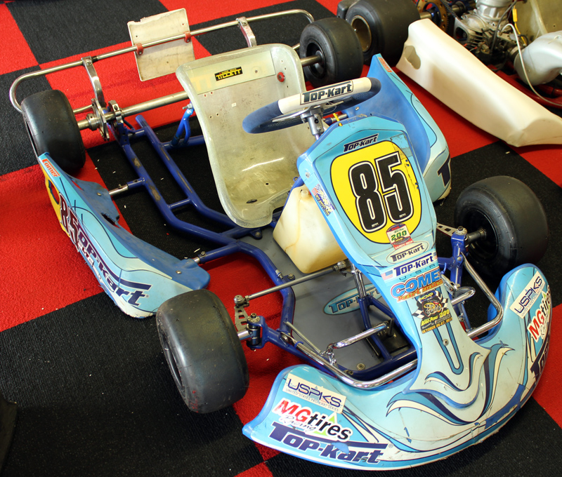 Used Top Kart Blue Eagle Cadet Chassis #85 :: Used Karts, New