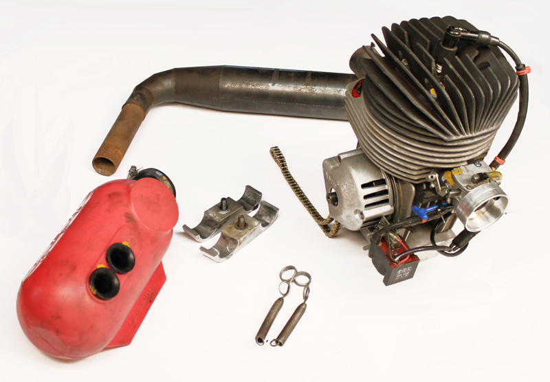 Used 100cc Parilla HPV Comet Blueprinted Complete Engine Kit