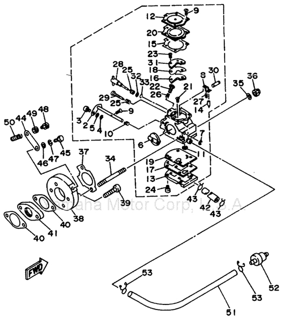 Walbro Carb Parts Diagram Electrical Circuit Electrical Wiring Diagram