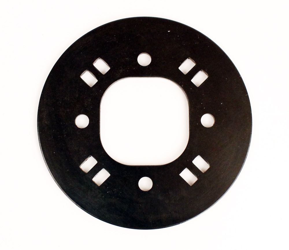(13) 100-25 L&T Wet Clutch Pressure Plate - 4 Spring