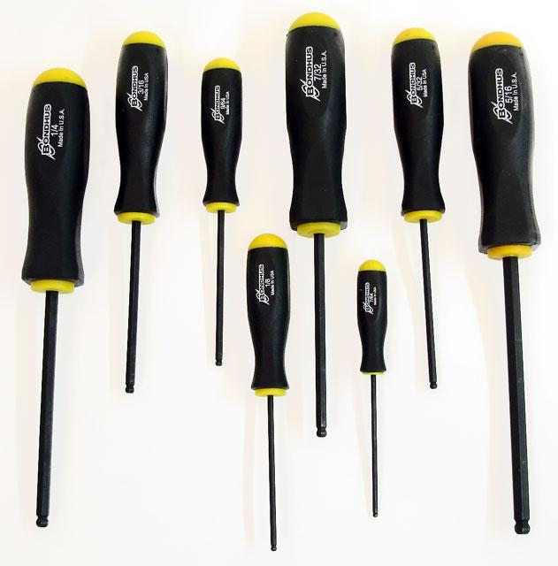 10633 Standard Ball End Driver Allen Wrench Set
