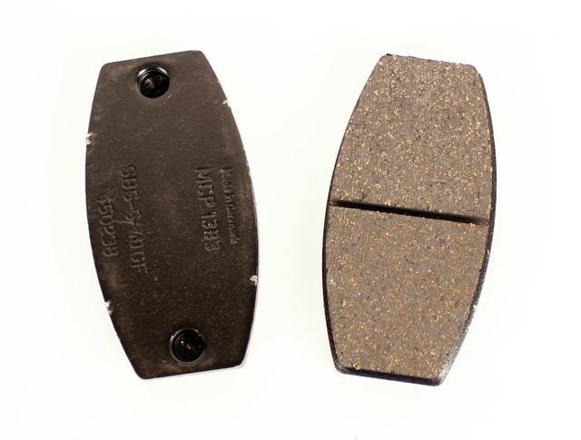 MCP 1383BN Rear Brake Pad Black