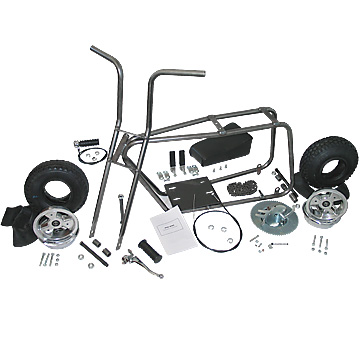 "3541 Mini Bike Kit with 6"" Aluminum Wheels"