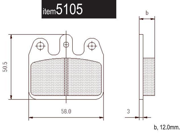 5105.S CRG Ven05 Rear Pads