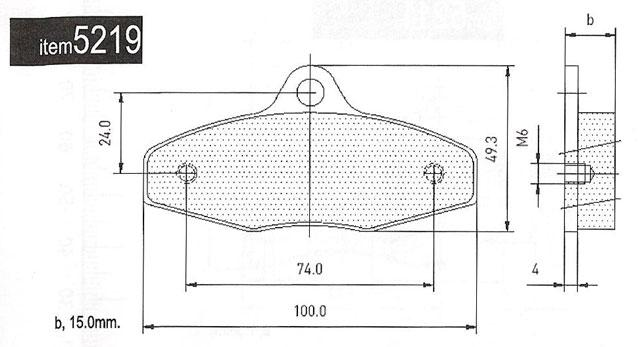 5219 MBA, Merlin, Firstkart Brake Pads