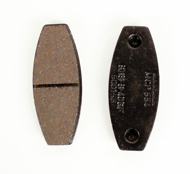 MCP 554BN Front Brake (Set of 4) Pads Black