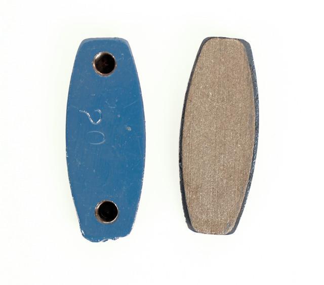MCP 554LN Front Brake Pads Blue, FOUR