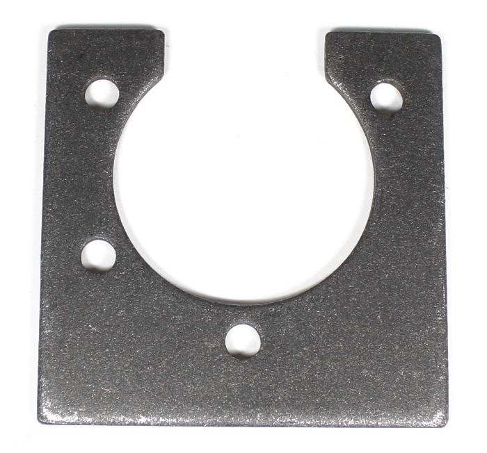 "8130 Azusa 1 1/4"" Bearing Cassette Steel Weld On Hanger Plate"