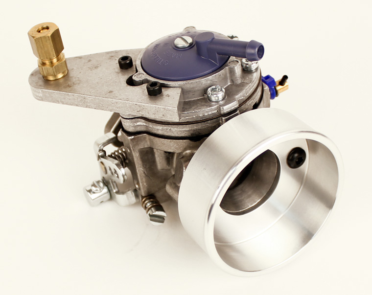 Tillotson HL 334AB Comet Blueprinted Leopard Carburetor with Cup and Up Pull Throttle Kit